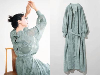 シーズンテーマはMINERAL、MEDE19Fが春の新作を発表。シアー素材のワンピースやシャツ、フランス・アルザス地方の「ミュルーズ染織美術館」とのコラボレーションシリーズにも新作が登場