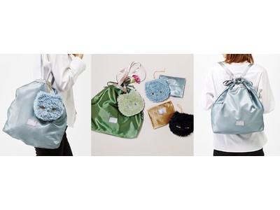 「ねこのポーチ&リュックにもなるエコバッグセット」がファッション雑貨ブランド「Squee![スクイー!]」から新登場