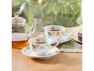 小鳥好きさんのための「ほっこりお茶会 インコのカップ&ソーサー」がフェリシモから登場