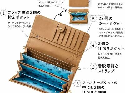 漫画家 山野りんりんさんとつくった「パッチンがま口7つ星長財布」が「フェリシモ猫部(TM)」から新登場