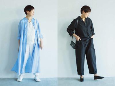 主婦ブロガー金子敦子さんとフェリシモのファッションブランドTHREE FIFITY STANDARDがコラボレーション。新作アイテムをウェブ販売中