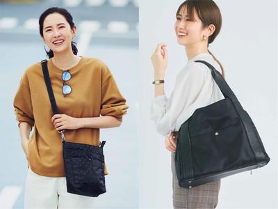 女性のリアルなライフスタイルを応援するバッグが2つのコラボで新登場 はまじ×リブインは究極のお出かけショルダー、初コラボのmi-mollet(ミモレ)×イディットからはシーンレスに使えるトート