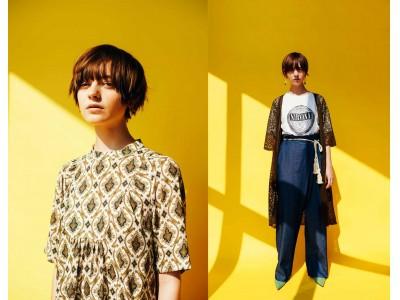 ヴィンテージマインドを愛でるように今の着こなしにミックスするフェリシモのファッションブランド『MEDE19F[メデ・ジュウキュウ]』から夏の新作が登場