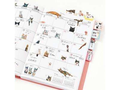 """「猫部トーク」の猫さんたちとつくった""""手帳であそぶ猫シール""""が『フェリシモ猫部(TM)』から新登場"""