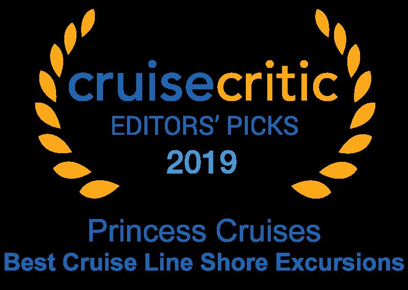 プリンセス・クルーズ、「クルーズ・クリティック」の「2019 エディターズ・ピックス・アワード」にて「ショアエクスカーション」部門で1位を受賞