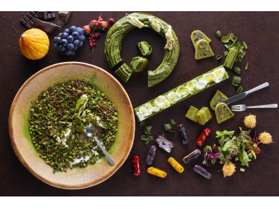 3年目の抹茶スイーツブッフェは、毎月変わる旬のテーマ食材とともに。「抹茶マニア オータム」
