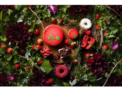 小さな苺の森をイメージした ストロベリースイーツブッフェ  「 Grove of berry 」2019年1月5日(土)より開催