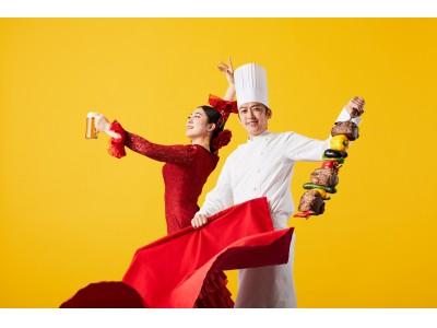 安心の屋上ロケーションでBBQブッフェを満喫。今年はスペインテーマで心身ともに元気に。日帰り旅行気分でリフレッシュ!ベイサイドビアガーデン「BBQ エスパーニャ!」