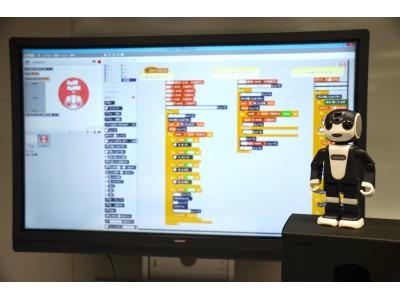 兵庫県姫路市教育委員会にコミュニケーションロボット「RoBoHoN」と学校向け電子黒板「BIG PAD Campus」を大量納入