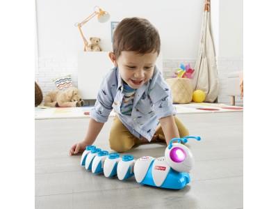 1000通り以上の組み合わせで動きをコントロール!あのイモムシ型プログラミング知育玩具がリニューアルして新登場『コード・A・ピラー ツイスト』8月中旬より発売