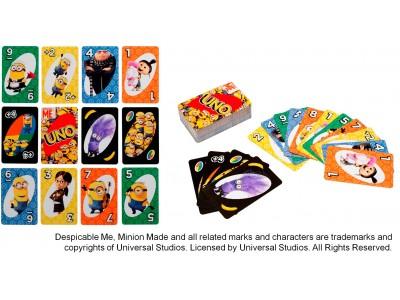 昨年リニューアルしたウノから、人気の『ミニオンズ』コラボが登場!「ウノ ミニオンズ」5月下旬より発売~オリジナルカード「イーブルミニオン」でのスペシャルルールも注目~