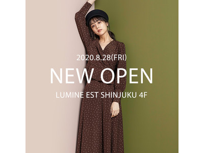 Andemiuが新宿・ルミネエストに8月28日(金)グランドオープン!
