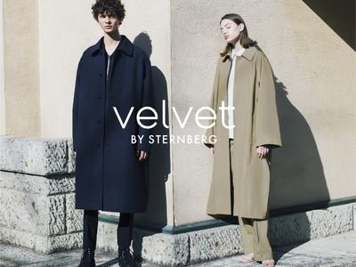 上質な素材と洗練された美しさを持つ新時代のコンテンポラリーブランド「velvet BY STERNBERG」