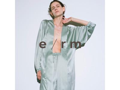 大人女性に提案するルームウエアブランドe/rm(イーアールエム)のポップアップストアが9月6日(月)ニュウマン横浜5階にオープン!