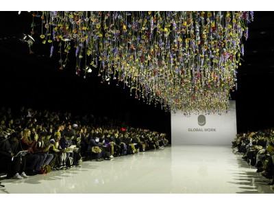 GLOBAL WORKがAmazon Fashion Week TOKYOにて2018 SPRING / SUMMER COLLECTIONを発表!ランウェイショーの臨場感をVRで体験しよう