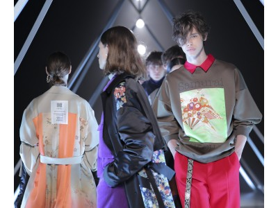HARE(ハレ)がAmazon Fashion Week TOKYOで2019 AUTUMN WINTER COLLECTIONを発表。Samurai ALOHAとのコラボアイテムも。
