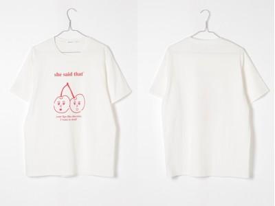 <niko and ...>×韓国雑貨ブランド〈she said that〉コラボTシャツが4月20日(土)より販売開始!