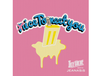 JEANASISに、「ICETACHE」によるアイスキャンディーのポップアップストアが4月27日から出現。期間限定「MATCHA AZUKI」を含めた全8種をラインアップ!