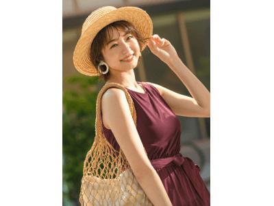 Andemiu×中村静香  骨格診断別の夏ワンピースを提案