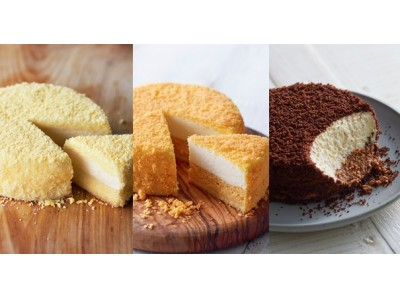 今日はどのチーズケーキにする? 3種のドゥーブルフロマージュが登場! 『小樽洋菓子舗ルタオ』、大阪・スイーツボックス京橋店に期間限定出店