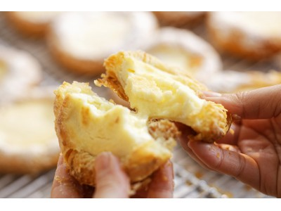 【期間中10,000個販売!】並んでも食べたい!ルタオのデニッシュパンが再び登場!『フロマージュデニッシュ・デニルタオ』、京王百貨店新宿店に期間限定出店