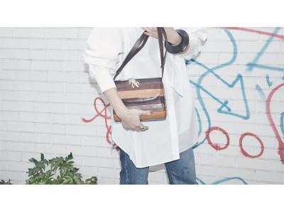 《 MAISON DE REEFUR 》がパリの注目ブランド『アメリ・ピシャール』とコラボレーション!第2弾となるアイコニックなクロコダイルモチーフのバッグを発売。