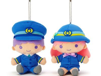 ~「キキ&ララ モノレール」好評運行中~ 「リトルツインスターズ」のマスコット・パスケースを発売します!