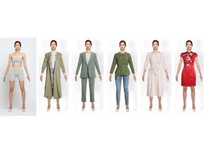 モノクロムとアパテックジャパンが業務提携。洋服の着画撮影を行わずに週末モデル3,000人分の着せ替えを可能に