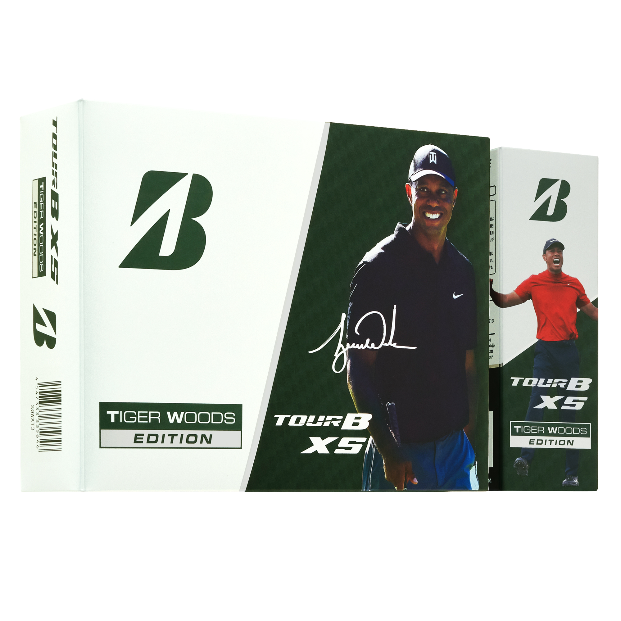 ゴルフボール『TOUR B XS Tiger Woods EDITION』新発売