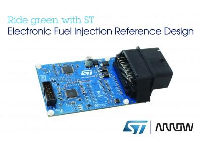 小型エンジンの新しい排出ガス規制に準拠するEFI用リファレンス設計の提供でArrow Electronics社と協力