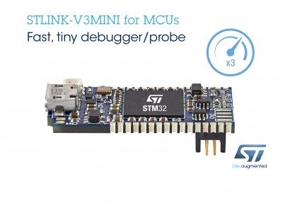 STM32マイコンを使ったシステム開発期間を短縮する小型で便利なSTLINK-V3MINIデバッグ・プローブを発表