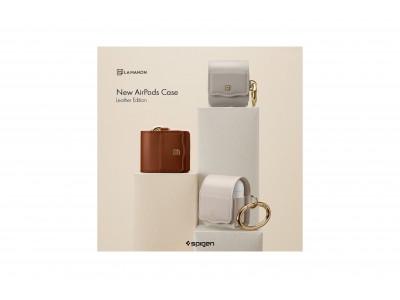 Spigenの新ブランド『LA MANON(ラ マノン)』から高級感のあるAirPods用レザーケースを発売