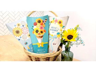 おうちに夏気分をお届け!ポストに届くお花の定期便「ブルーミー(bloomee)」3種類の夏限定BOXを展開