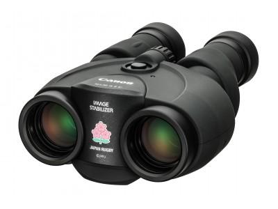 """手ブレ補正機能付き双眼鏡""""10×30 IS II""""と""""EOSネックストラップ""""のラグビー日本代表限定モデルを発売"""