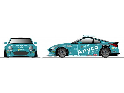 Anyca、世界初ドリフト競技会FIA Intercontinental Drifting Cup出場チームに協賛