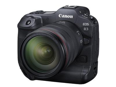 """撮影領域を拡大するフルサイズミラーレスカメラ""""EOS R3""""を発売 最高約30コマ/秒の高速連写と高画質・高信頼性を実現"""