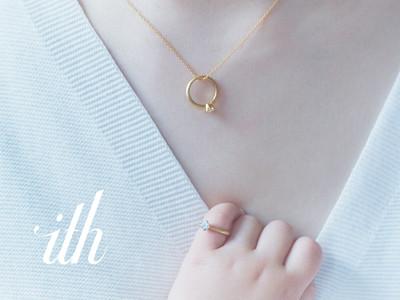 オーダーメイド結婚指輪【ith/イズ】より、初のネックレス&ベビーリングを含むアニバーサリージュエリー3種をWEB限定販売