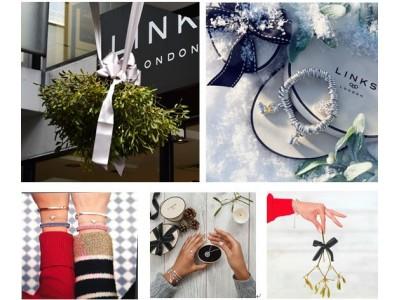 リンクス オブ ロンドン青山店の「ヤドリギ」の下でキスをしてロマンティックなクリスマスを!