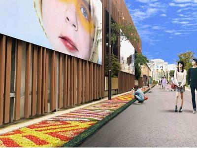 天王洲運河沿いに壮大な花絵を展示「TENNOZ CANAL ART INFIORATA」を10月28日より開催