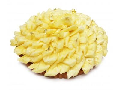 カフェコムサ初!沖縄県石垣島産プレミアムパイナップルのケーキを期間限定で発売