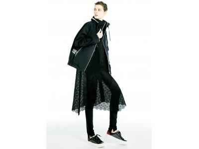 黒の可能性は限りなく!様々な黒色でファッションを表現したルミノーゾ・コムサの「THE BLACK」