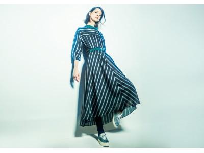 マニッシュなレジメンタルストライプをフェミニンに表現!K.T キヨコ タカセの新トラッドスタイル