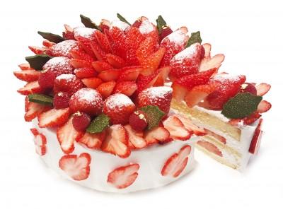 """カフェコムサ恒例!""""ショートケーキの日""""12月22日(土)の限定ケーキは、いちごを使用したクリスマスデザイン"""