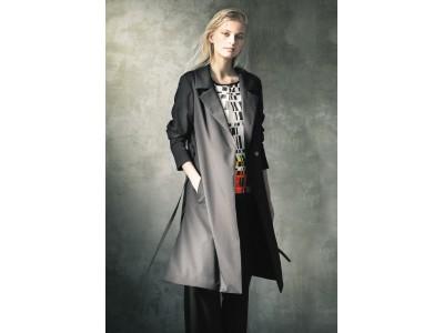 イタリアのマテリアルメーカーとコラボレーションして新しい黒色を生み出しました 「アルチザン」春のブラック・コート発売