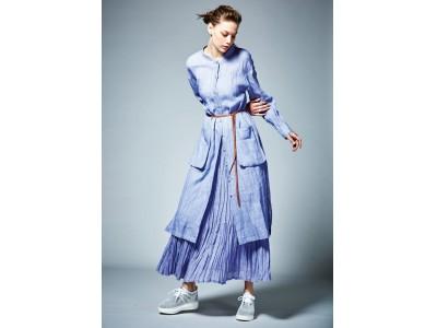 今年のファッションはカラーがポイント!日本の伝統色をお手本にした麻のコレクション
