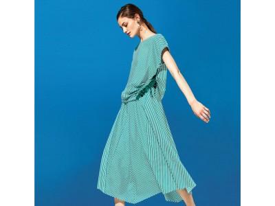 Tシャツ感覚の着心地で夏に最適!ルミノーゾ・コムサのブラウスセットアップ発売