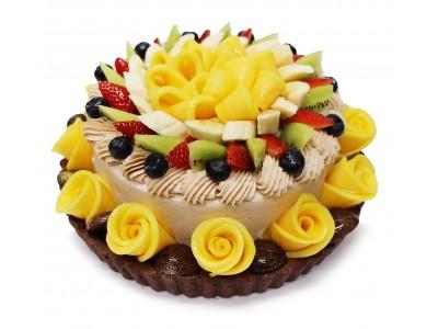 秋の味覚とフレッシュフルーツの融合!カフェコムサ「フルーツマロンショート」のケーキを9月12日(木)より発売