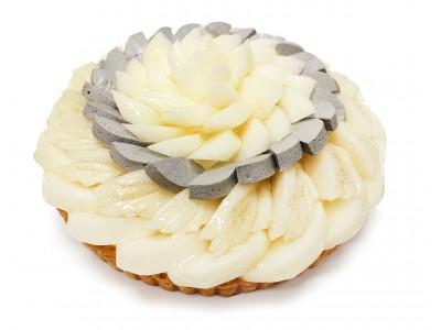 カフェコムサ銀座店限定!ほとんど市場に流通しない新潟県産「新美月」「新王」という梨を使用したケーキを発売