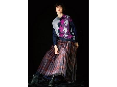 このリュクス感は大人の特権!格子柄をアップデートした新感覚プリーツスカート発売