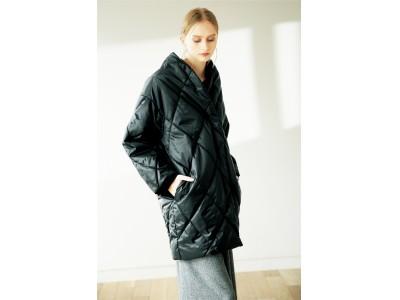 着物のコート「道中着」をイメージ!保温機能を兼ね備えた洗えるキルティングコート